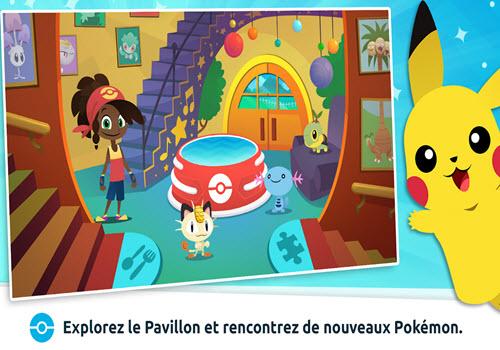Capture d'écran Pavillon Pokémon iOS
