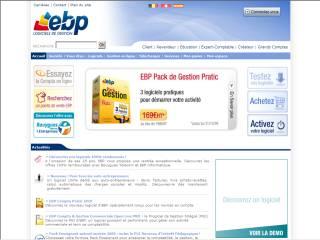 Capture d'écran EBP Cresus, Vital et Pastel