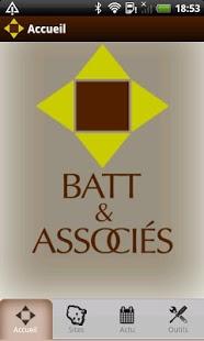 Capture d'écran Batt Mobile