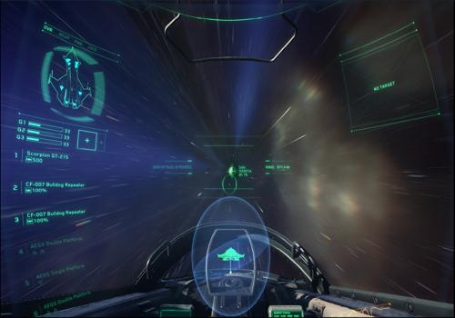 Capture d'écran Star Citizen