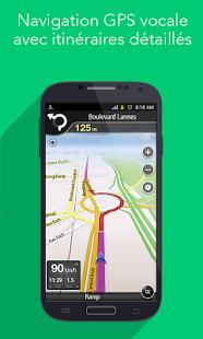 Capture d'écran Navfree: GPS Gratuit