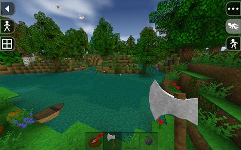 Capture d'écran Survivalcraft