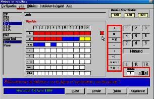 Capture d'écran Tables