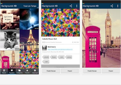 Capture d'écran Fonds d'écran Android