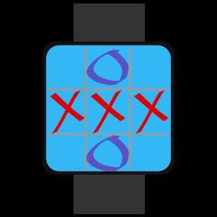 Capture d'écran Morpion – Android Wear