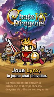Capture d'écran Chats vs Dragons