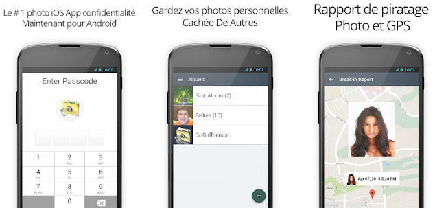 Capture d'écran Private Photo Vault Android
