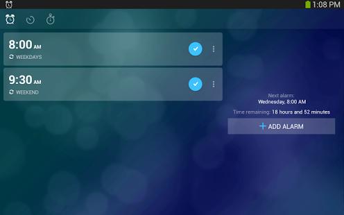 Capture d'écran Alarm Clock Xtreme