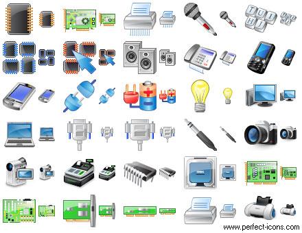 Capture d'écran Perfect Hardware Icons