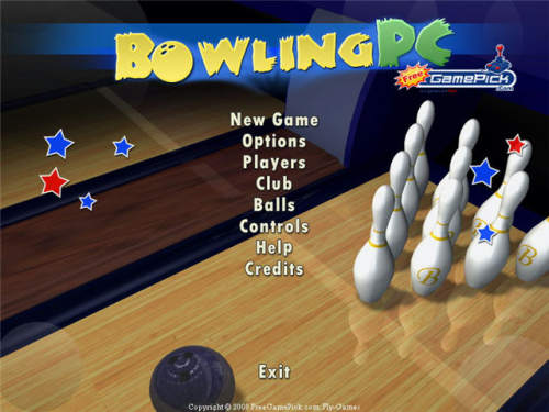 Capture d'écran Bowling PC