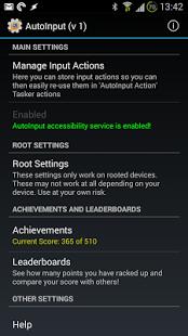 Capture d'écran AutoInput