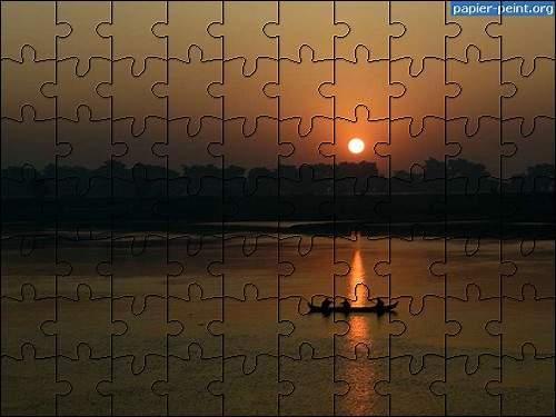 Capture d'écran Puzzle Coucher de Soleil 2