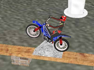 Capture d'écran Trial Bike Arcade