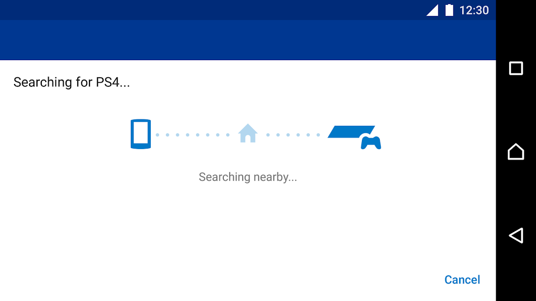Capture d'écran PS4 Remote Play Android
