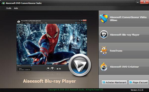 Capture d'écran Aiseesoft DVD Convertisseur Suite