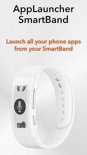Capture d'écran AppLauncher for SmartBand