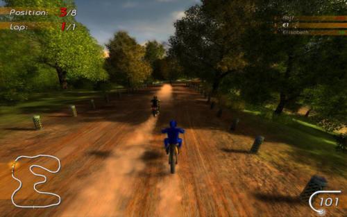 Capture d'écran Motoracing