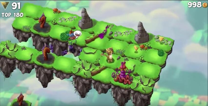 Capture d'écran Sky Hop Saga Android