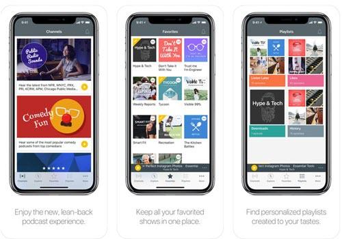 Capture d'écran Spreaker Podcast Radio Android