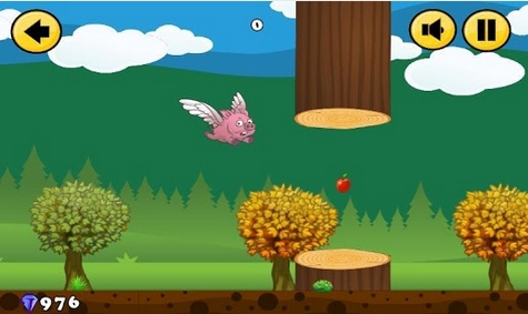 Capture d'écran Flappy Pig Android