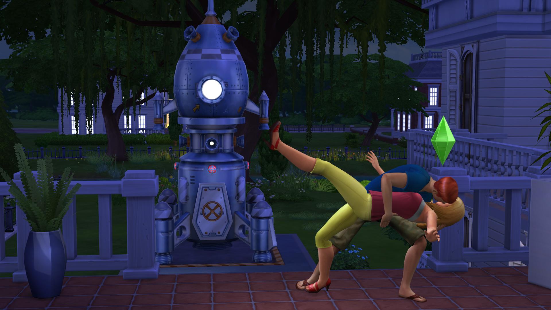 Capture d'écran Les Sims 4