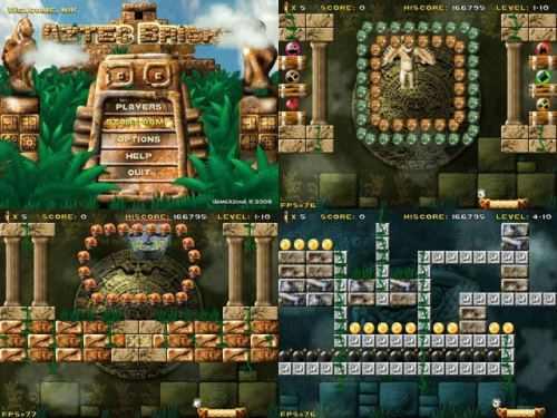 Capture d'écran Aztec Bricks