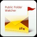 Capture d'écran Public Folder Watcher
