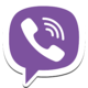 Logo Viber Android