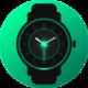 Logo Analog Glow Watch Face