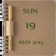 Logo NoteBook Calendar Widget
