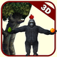 Logo Tireur de fruit 3d tir à l'arc