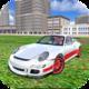 Logo Racing Car Driving Simulator