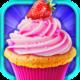 Logo Tasty Strawberry Cupcake Maker