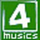 Logo 4Musics M4A to MP3 Converter