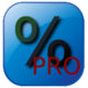 Logo Calculatrice pourcentage (PRO)