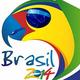 Logo Coupe du Monde 2014 Brésil