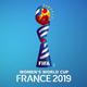Logo Calendrier Coupe du Monde féminine de football 2019