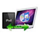 Logo Xilisoft Transfert iPad Mac