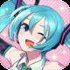 Logo Hatsune Miku – Tap Wonder iOS