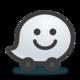Logo Waze Social GPS Maps