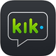 Logo Kik messenger iOS