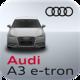 Logo Audi A3 e-tron connect