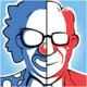 Logo Clowns & Présidents Android