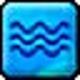 Logo Rain, Ripples, Waves and Blobs