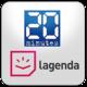 Logo 20 Minutes Lagenda
