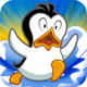 Logo Flying Penguin  best free game