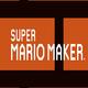 Logo Super Mario Maker Booklet