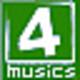 Logo 4Musics OGG to MP3 Converter