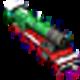 Logo Winter Train 3D Screensaver for Mac