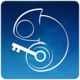 Logo Fancy Blue: App Lock Theme